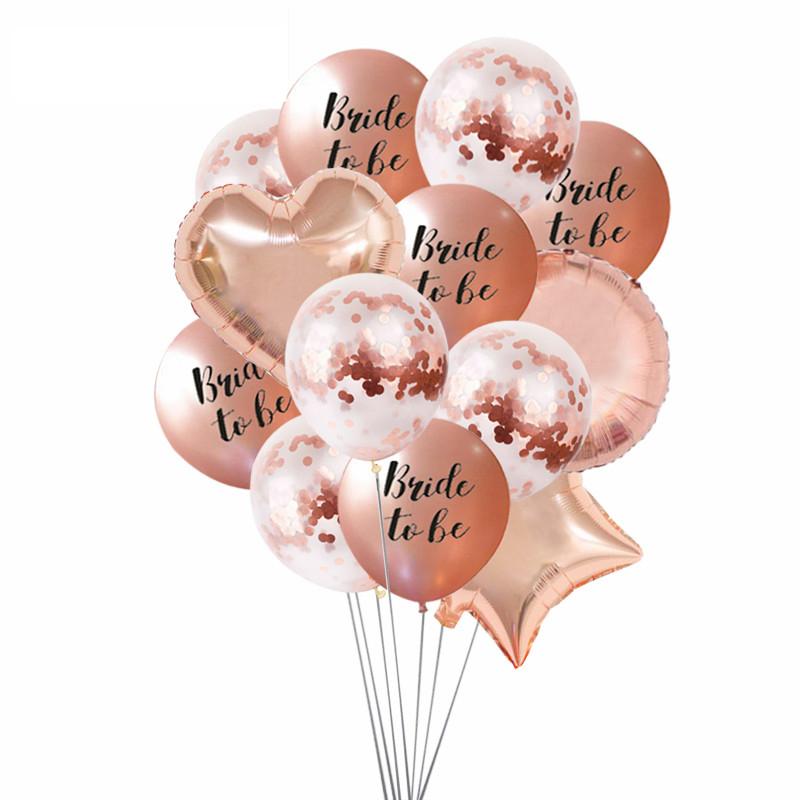 Bride 2 Be balloons